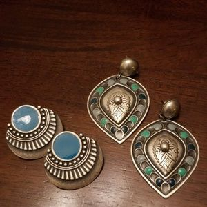 Two Pair Boho Earrings